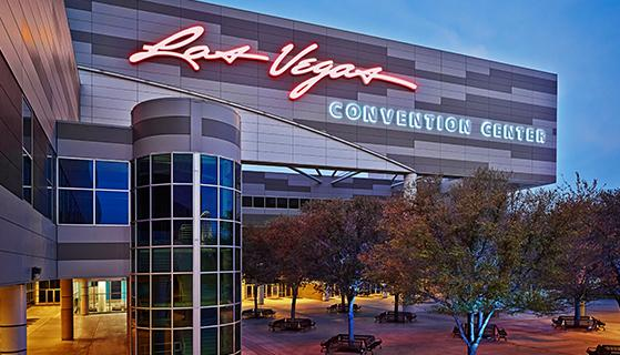 Convention centers in Las Vegas